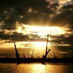 Ben Appleford sunset after kayaking