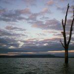Ben Appleford sunset whilst kayaking