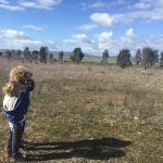 Charlene Ham bird spotting and wilding imagining