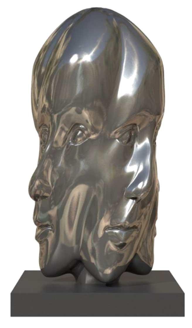 woman-in-silver