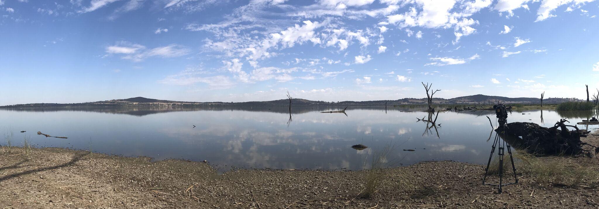 Water at Lake Mokoan